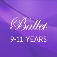 Tues. 4:45 - 5:45 Ballet 9-11 yrs. - Academic Year 2021-'22