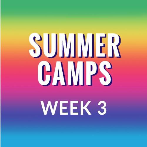 Summer Camp, Week 3  - Frozen in July, July 12-16