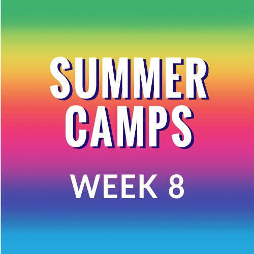 Summer Camp, Week 8  - Princesses on Parade, August 23-27