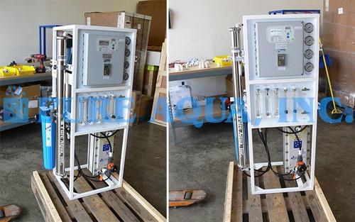 Sistema de Ósmosis Inversa y Electrodesionización 600 GPD - Jordania