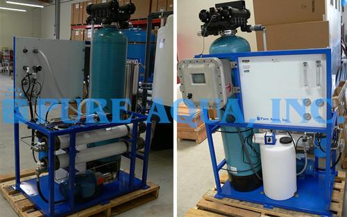 Sistema de Ósmosis Inversa para Agua de Mar 2,100 GPD - Indonesia