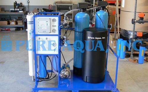 Unidad Comercial de Ósmosis Inversa para Agua Salobre 5,000 GPD - Nigeria