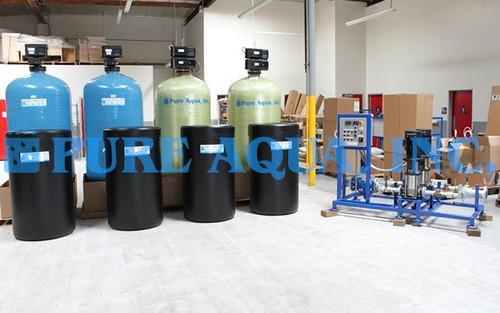 Suavizador de Agua Doble Alternado 115,200 GPD - Irak