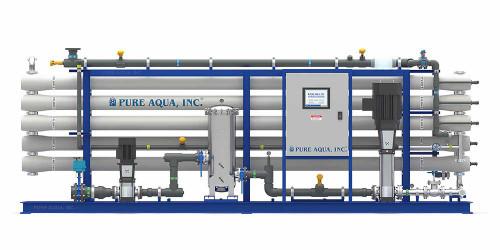 Sistema Ósmosis Inversa Industrial para Agua Salobre  Imagen 1