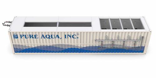 Sistema de Tratamiento de Aguas Residuales Biorreactor de Membrana en Contenedor