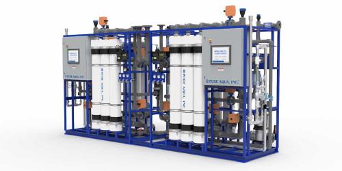 Sistema Industrial de Ultrafiltración Serie UF