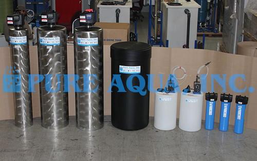 Sistemas Industriales de Filtración de Acero Inoxidable 17 GPM - Bolivia