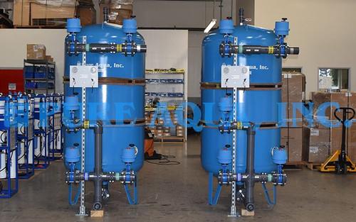 Filtros Multimedia para Agua Subterránea seguidos de un Sistema Ultra Violeta 2 x 75 GPM - Katar - Imagen 1
