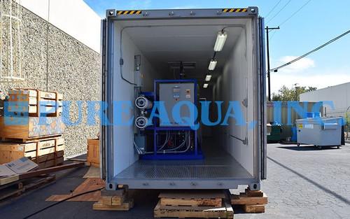 Sistema Móvil de Ósmosis Inversa de Agua Salobre 87,000 GPD - Venezuela - Imagen 1