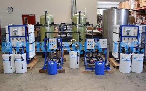 Sistemas Comerciales de Tratamiento de Agua por Ósmosis Inversa para Hospitales (reducción de la conductividad) 2 x 12,000 GPD - Jordánia