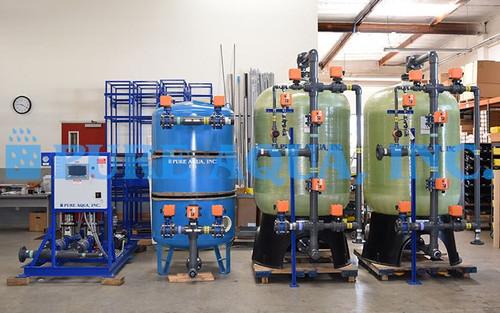 Sistemas de Desionización de Agua de Doble Cama 140 GPM - Papúa Nueva Guinea - Imagen 1