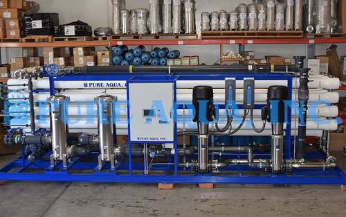 Equipo de Ósmosis Inversa Industrial para Agua Salobre 600,000 GPD - Kuwait