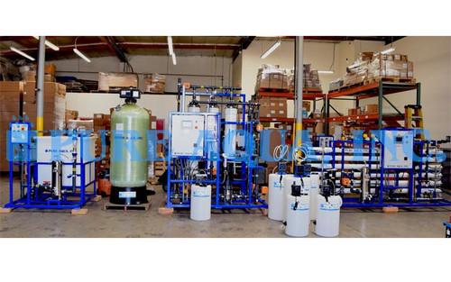 Sistema de Agua Reciclada Para Granjas Hidroponicas 15 GPM - EE.UU