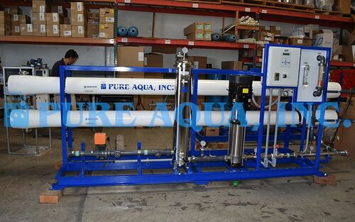 Sistema Pre Ensamblado de Ósmosis Inversa Industrial para Agua Salobre 57,000 GPD - Sri Lanka