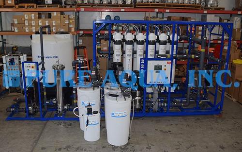 Sistema de Ultrafiltración Industrial 120,000 GPD - Estados Unidos