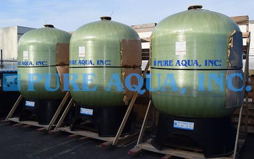 Filtro de Carbón Activado Operado Manualmente 3 x 175 GPM - Arabia Saudita