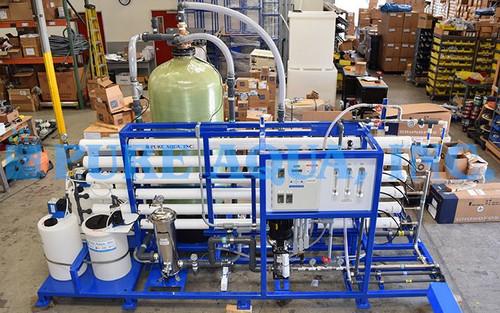Sistema de Nanofiltración para Aplicación Agrícola 27,000 GPD - Estados Unidos