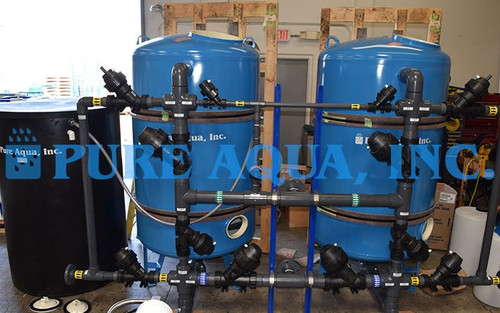 Sistema de Filtración Commercial para Edificio de Hospital 160 GPM - Jordania