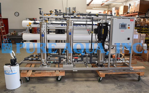 Ósmosis Inversa Industrial para uso  de Reducción de Sulfato  72,000 GPD – Estados Unidos