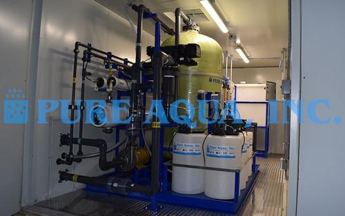 Planta de Ósmosis Inversa Para Agua de Mar de Doble Paso en Contenedores 16,000 GPD - Bahamas