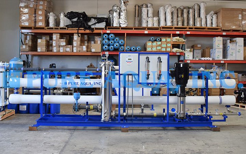 Sistemas de Ósmosis Inversa de Doble Paso 72,000 y 20,000 GPD - Filipinas