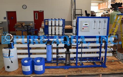 Sistema de ÓI Comercial Para la Industria Lácteal 18,000 GPD - Belice