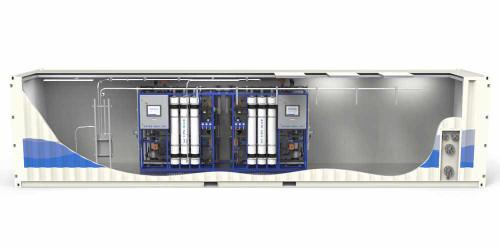 Sistema de Ultrafiltración en Contenedor / Móvil Serie CUF