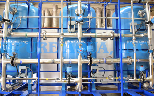 Suavizador de Agua Triple Automático para Beber 400 GPM - EE. UU.
