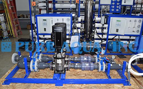 Máquinas Industriales de Ósmosis Inversa 70,000 x 2 GPD | Afganistán