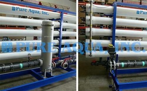 Sistema de Ósmosis Inversa Industrial Para Agua Potable - Emiratos Árabes Unidos