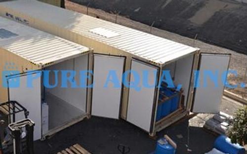 Sistema de Tratamiento de Agua en Contenedores - 66,000 GPD - Libia