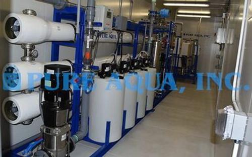 Planta de Ómosis Inversa en Contenedores 95,000 GPD Para Agua Caliente Salobre - Níger