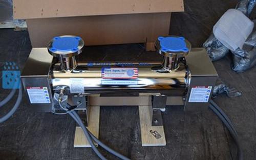 Esterilizador industrial ultravioleta 670 GPM - Ecuador