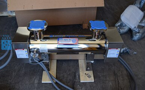 Purificador de agua industrial ultravioleta 251 GPM - San Vicente y las Granadinas