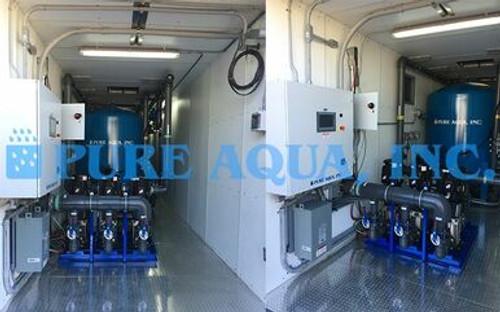 Sistema de filtración en contenedores 216,000 GPD - Palau