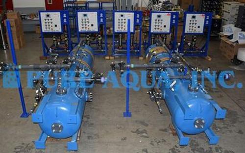 Sistemas de agua desionizada 30-40 GPM - Kuwait