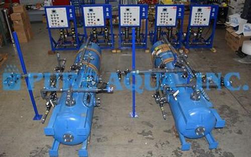 Desionizador de Cama Doble Para Tratamiento de Agua de Laboratorio - Kuwait
