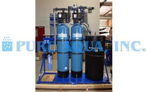 Sistema de Intercambio Iónico Para la Eliminación de Nitratos del Agua 15 GPM - Estados Unidos