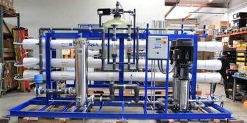 Sistema de Nanofiltración Para Uso Agrícola 87,000 GPD - Omán