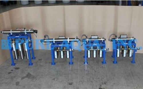 Carcasa de Filtro de Cartucho de Acero Inoxidable con UV 2 x 7,200 GPD, 17,000 GPD, 46,000 GPD - Kuwait