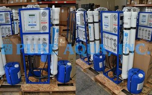 Sistemas comerciales de ósmosis inversa 100 x 3000 GPD - Sri Lanka