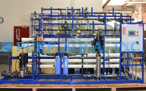 Sistema de Ósmosis Inversa Montado Sobre Plataforma con Componentes NSF Para Conservas de Pescado - 20,000 GPD - Alaska, EE. UU.