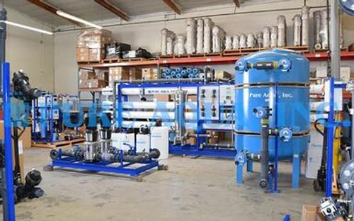 Sistema de Ósmosis Inversa Industrial Para el Tratamiento de Agua de Pozo Para la Agricultura - Qatar