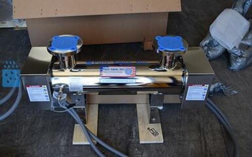 Desinfectante de agua ultravioleta 2X 130 GPM - Filipinas