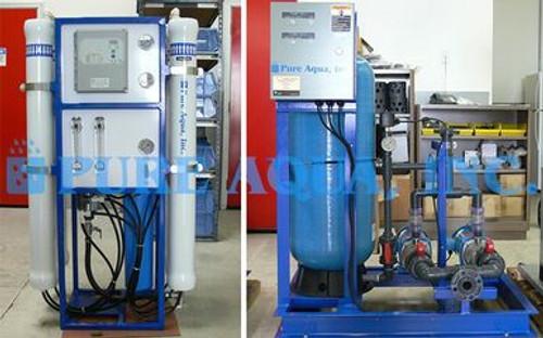 Sistema de ósmosis inversa 58,000 GPD para uso hospitalario - Jordania