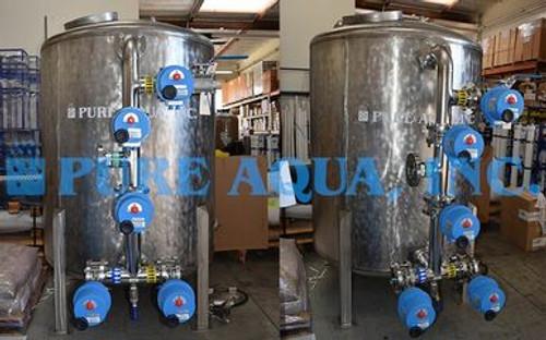 Filtro de carbón higienizable con vapor 80 GPM - Emiratos Árabes Unidos