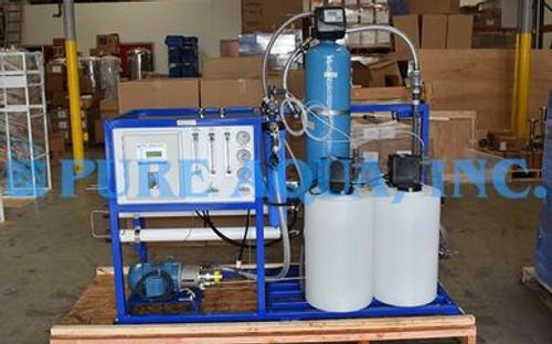 Sistema Piloto de Agua de Mar Para la Reducción de Amonio 1,300 PIB - EE. UU.