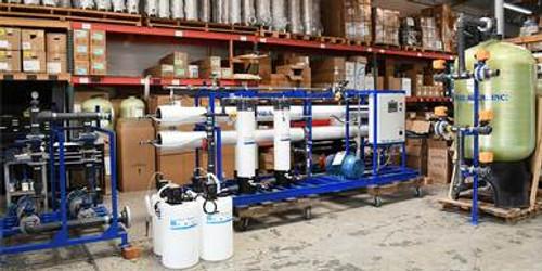 Planta de Desalinización Industrial Por Ósmosis Inversa 32,000 GPD - Maldivas