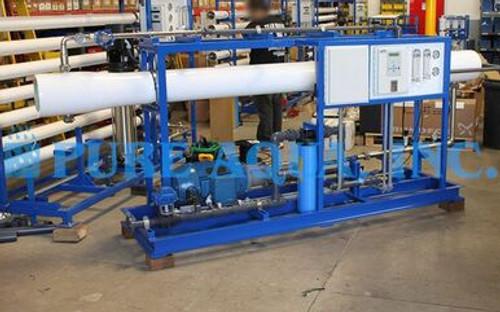 Sistema de RO de Agua de Mar Industrial 11,000 GPD - Islas Fiji