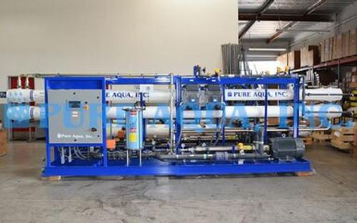 Sistema de ósmosis inversa de agua de mar 2X 48,000 GPD - Belice